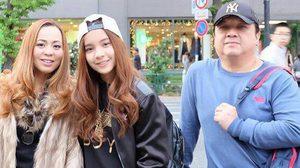 แองจี้ กามิกาเซ่ ควงคุณพ่อเที่ยวญี่ปุ่น