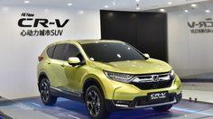 2017 Honda CR-V ไฮบริด ขายจริงที่จีน 9 ก.ค. นี้