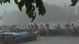 เตือน! พายุดีเปรสชันบริเวณอ่าวไทย มีผลกระทบถึงวันที่ 9 พ.ย. นี้