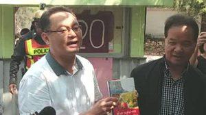 ทหาร-ตำรวจ เข้ายุติงานเปิดตัวหนังสือ ของ 5 อดีต ส.ส.พรรคเพื่อไทย