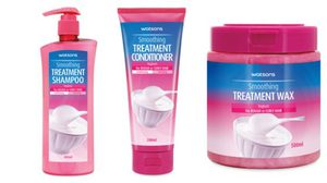 Watsons Hair Care Treatment ผลิตภัณฑ์คุณภาพเพื่อทุกสภาพเส้นผม