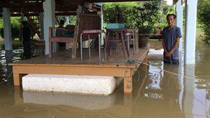 ชาวปทุมธานี เร่งเก็บของหนีน้ำ หลังระดับเจ้าพระยาเพิ่ม