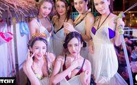 เก็บตกภาพ ITCHY-WAREHOUSE Songkran Festival นมทะลักทั้งงานกันเลยทีเดียว