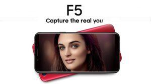 เปิดตัว Oppo F5 อย่างเป็นทางการ มาพร้อมกล้องหน้าคู่ และระบบ AI Beauty Selfie ให้ภาพเซลฟี่สวยยิงกว่าเดิม