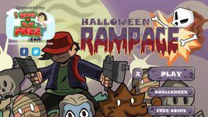 เกมส์ยิงผีตะลุยสุสาน Halloween Rampage
