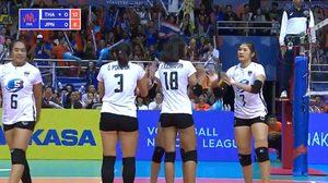 ผลวอลเลย์บอล : ทีมชาติไทย vs ญี่ปุ่น