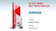 คะแนนเต็ม! Sophos ได้รางวัล App ป้องกันภัยไวรัส บนมือถือดีที่สุด