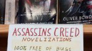 เอาฮาไปไหน! ซื้อนิยาย Assassin's Creed ปลอดบัค 100 เปอร์เซนต์
