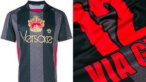 กระแสกำลังมา!! Versace เสื้อฟุตบอลสุดหรูหราไฮโซ ใส่แล้วหล่อขึ้น 20%