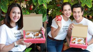 2 ศรีพี่น้อง วิลลี่-แหม่ม ทุ่มงบ 10 ล้าน! วาร์ป! ตำนานพายแอปเปิ้ล RAPL จากญี่ปุ่น
