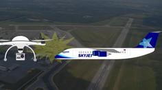 โดรนมั่ว!! บินในที่ห้ามบิน ชนกับเครื่องบินโดยสารแคนาดา