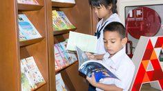อักษรเอ็ดดูเคชั่น มอบหนังสือสื่อเสริมความรู้ สำหรับเยาวชน ให้กับหอสมุดเมืองกรุงเทพฯ