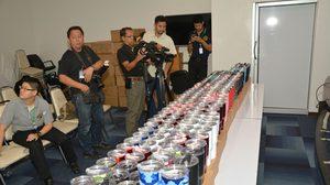 บุกค้นโกดัง ตรวจพบแก้วน้ำปลอมยี่ห้อดัง รวบชาวไทย-จีน ฐานละเมิดลิขสิทธิ์