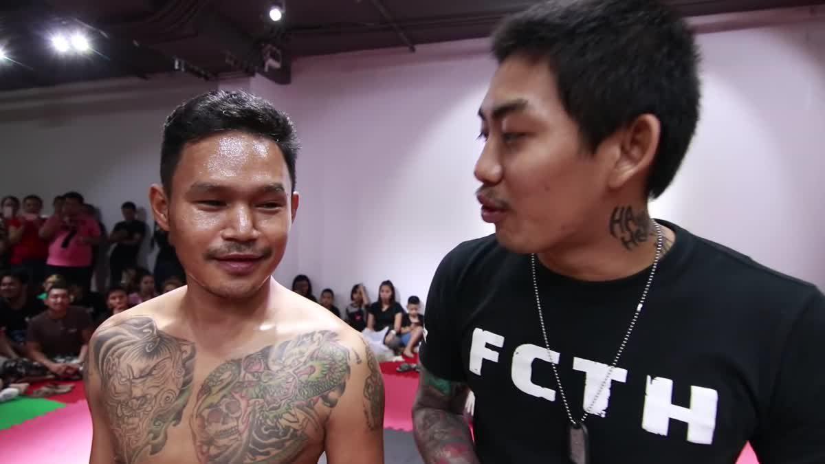 Fight Club Thailand ส่งท้ายปี แจ๊ค ฆ่ายักษ์ x ฃิฟู คู่ที่ 201