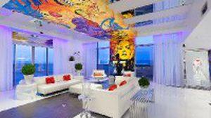 5 ไอเดียตัวอย่างแต่งบ้านให้สวยด้วย ฝ้าหลากสี