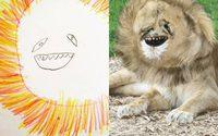 เมื่อคุณพ่อสานฝัน จิตนาการของลูกน้อย สร้างภาพวาดให้กลายเป็นภาพจริง
