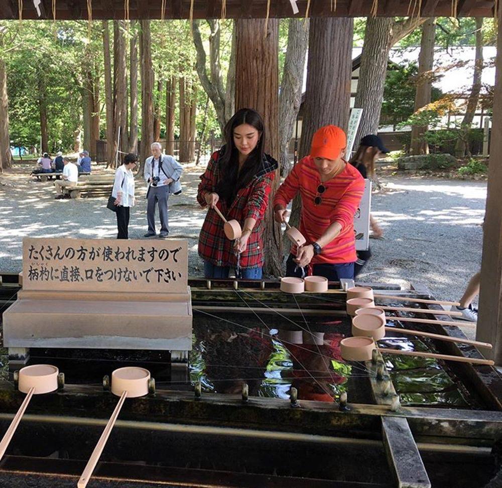 โต้ง - ปราง ทริปญี่ปุ่น