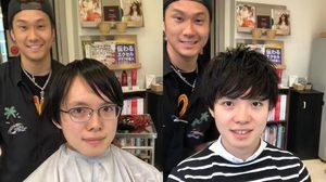 ทรงผมเปลี่ยนชีวิตจริงๆ ช่างตัดผมญี่ปุ่น เปลี่ยนหนุ่มเนิร์ดเป็นหนุ่มหล่อแค่การตัดผม