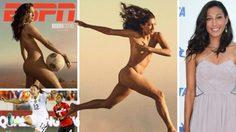 สวยงามตามเนื้อผ้า ศูนย์หน้าสาวทีมชาติมะกันโชว์เปลือยขึ้นปกนิตยสาร
