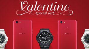 ออปโป้ จับมือ G-SHOCK ส่ง OPPO X G-SHOCK Valentine Special Set  ต้อนรับวาเลนไทน์