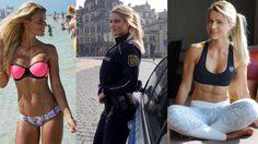 จับผมหน่อยครับ!! Adrienne Koleszár ตำรวจหญิงสุดเซ็กซี่
