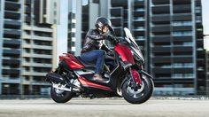 2018 Yamaha X-Max 125 พร้อมเปิดตัวเเล้วใน ยุโรป เป็นที่เเรก