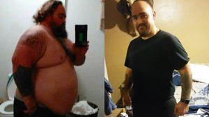 ฟิตหุ่น เปลี่ยนตัวเองเพื่อเข้ากองทัพ หนุ่มอ้วนลดน้ำหนัก กว่าร้อยกิโลใน 14 เดือน