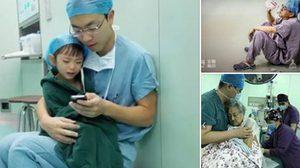 ชาวเน็ตจีนส่งภาพประทับใจ ให้กำลังใจหมอ-พยาบาล ในวันแพทย์แห่งชาติ