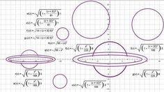นักเรียนจีน ใช้ฟังก์ชันวิชาคณิตศาสตร์ f(x) สร้างสรรค์ภาพที่สวยงาม