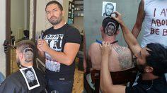 Mario Hvala ช่างตัดผม สุดเทพ อยากได้เป็นรูปหน้าใคร จัดให้ได้อย่างเฟี้ยว