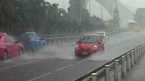 อุตุฯ เผยไทยตอนบนฝนฟ้าคะนอง-กทม.มีฝน 40%