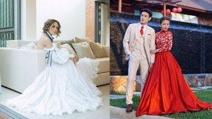 ดูไว้เป็นไอเดีย! รวม ชุดแต่งงานดารา ที่สาวๆ ต้องจดไว้ในลิสต์