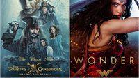 สองภาพยนตร์ฟอร์มยักษ์ Wonder Woman และ Pirates of the Caribbean ปล่อยสปอตโฆษณาใหม่