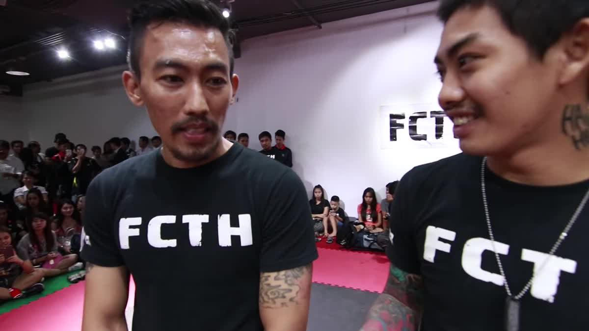 Fight Club Thailand ส่งท้ายปี เอส ปีศาจ x ตอง แรงน้อย คู่ที่ 187