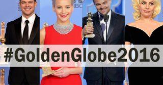 รายชื่อนักแสดง/ภาพยนตร์ที่ได้รางวัลลูกโลกทองคำปี 2016