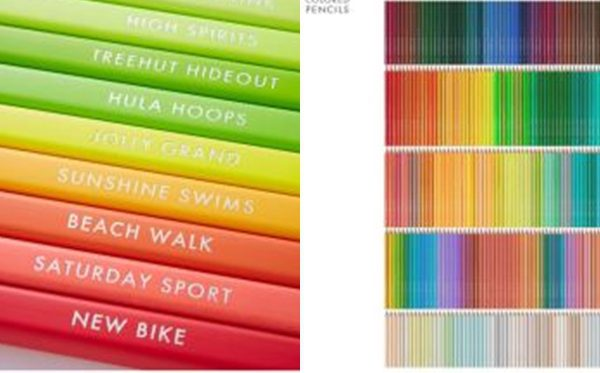 แทบกรีดร้องหนัก! ดินสอสีกว่า 500 เฉดสี ที่ได้รับความนิยมอย่างมากในญี่ปุ่น