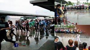 กองทัพแรงงาน! ฝ่าฝน แย่งสมัครโรงงานฮอนด้า หลังเปิดรับสมัครลูกจ้าง