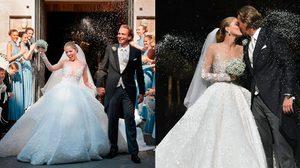 ราคาเบาๆ 35 ล้าน!! ชุดแต่งงาน สุดหรู ของทายาทสาวสวารอฟสกี้