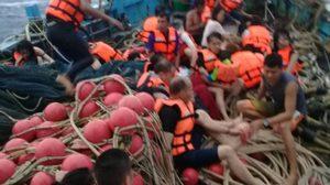 เร่งหาผู้สูญหาย เหตุเรือล่มภูเก็ตอีก 15 คน ใช้ ฮ. บินสำรวจ
