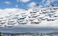 ภาพถ่ายการจราจรจากสนามบินทั่วโลก โดยช่างภาพ Mike Kelley