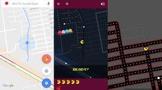 Google Map เพิ่ม Pacman ให้เล่นบนแผนที่ถนนจริง มาทุกระบบ iOS, Android และบน PC