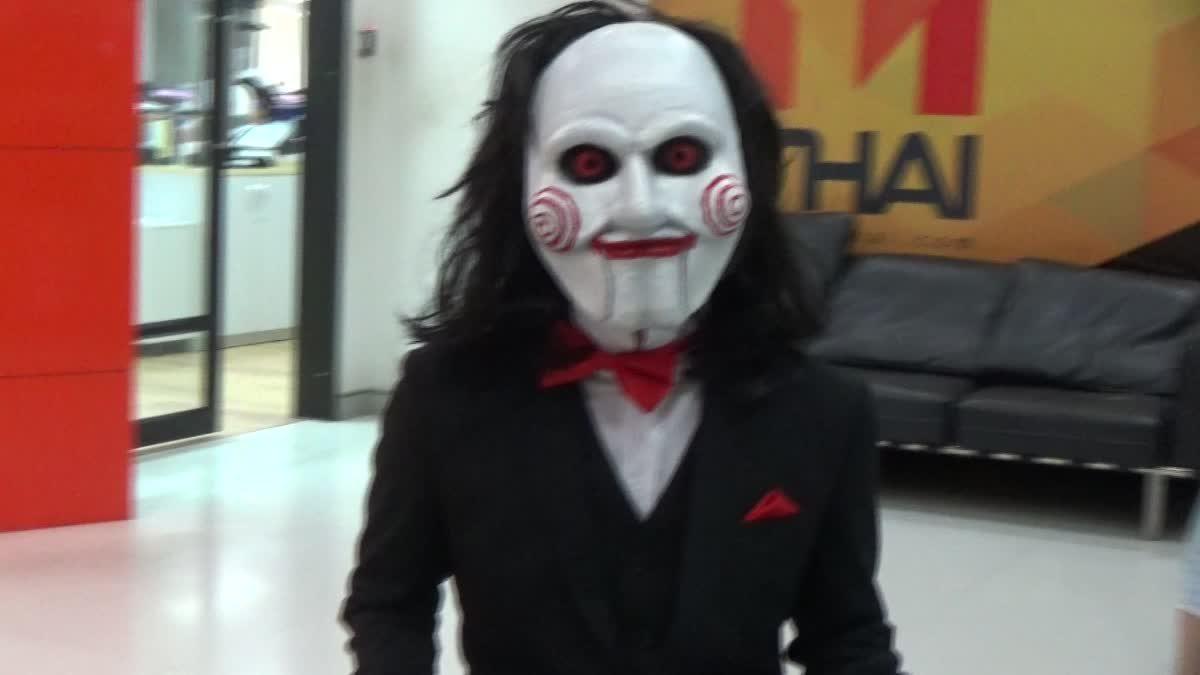 สะดุ้งกันทั้งออฟฟิศ! เมื่อ Jigsaw บุกมาหาชาว MThai Movie กันถึงที่!
