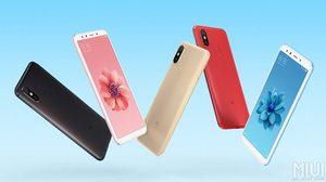 เผยโฉม Xiaomi Mi 6X มาพร้อมกล้องคู่แนวตั้ง 20 ล้านพิกเซล เตรียมเปิดตัว 25 เมษายนนี้