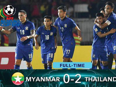 AFF ซูซูกิ คัพ: ความเห็นแฟนบอลบางส่วนหลังเกมไทยบุกอัดพม่าคาที่