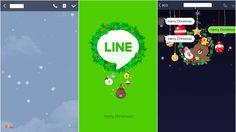 Line ร่วมฉลองคริสต์มาส ด้วยหิมะและสติกเกอร์เทศกาล