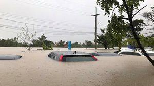 น้ำท่วมรถ, รถน้ำท่วม, ข่าวน้ำท่วม