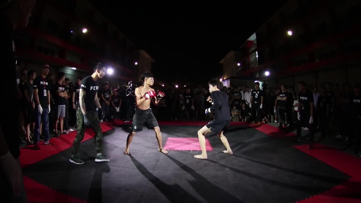 Fight Club Thailand วันสำคัญ ท๊อป ไชยา x ออม สแปลช คู่ที่ 136