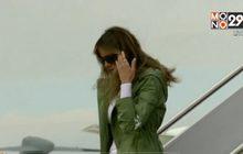 สตรีหมายเลข 1 สหรัฐฯ ถูกวิจารณ์เรื่องเสื้อคลุม