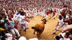 เทศกาลวิ่งวัวกระทิง ท้าผู้กล้า สุดตื่นเต้น!