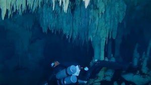 นักประดาน้ำสุดตะลึง!  พบถ้ำใต้น้ำใหญ่สุดในโลก โยงความลับ 'อาณาจักรโบราณ'